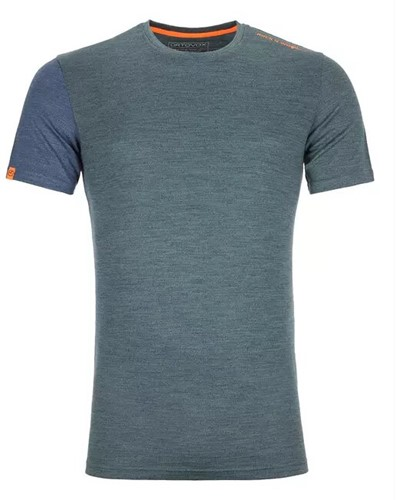 Ortovox 185 Rock'N'Wool Short Sleeve Herren grün XL