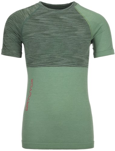 Ortovox 230 Competition Short Sleeve W green-isar-blend XS