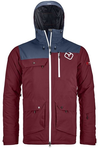Ortovox 2L Swisswool Andermatt Jacket M dark-blood L