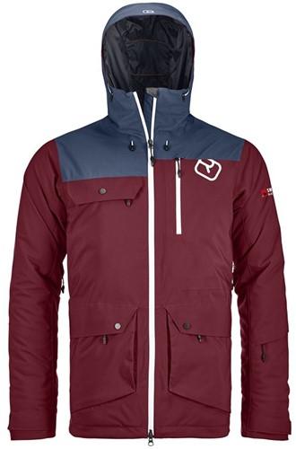 Ortovox 2L Swisswool Andermatt Jacket M dark-blood XL