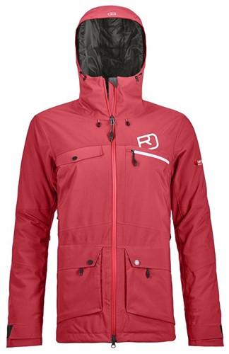 Ortovox 2L Swisswool Andermatt Jacket W hot-coral S