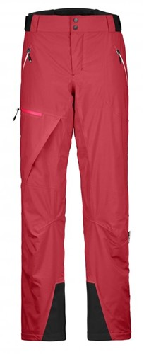 Ortovox 2L Swisswool Andermatt Pants W hot-coral M