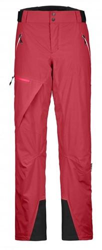 Ortovox 2L Swisswool Andermatt Pants W hot-coral S