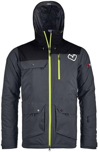 Ortovox 2L Swisswool Andermatt Jacket M black-steel L