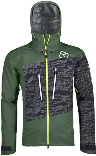 Ortovox 3L Guardian Shell Jacket M green-forest M