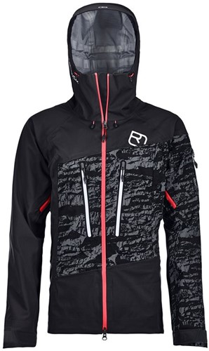 Ortovox 3L Guardian Shell Jacket W black-raven XL