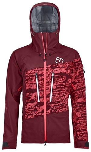 Ortovox 3L Guardian Shell Jacket W dark-blood XL