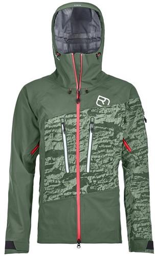 Ortovox 3L Guardian Shell Jacket W green-forest L