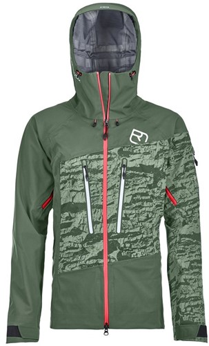 Ortovox 3L Guardian Shell Jacket W green-forest S