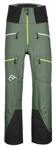 Ortovox 3L Guardian Shell Pants M green-forest M