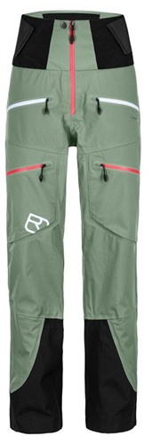 Ortovox 3L Guardian Shell Pants W green-isar L