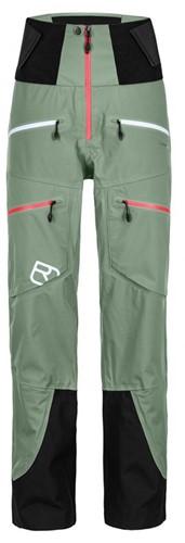 Ortovox 3L Guardian Shell Pants W green-isar S