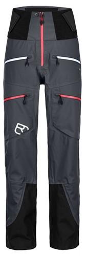 Ortovox 3L Guardian Shell Pants W black-steel L