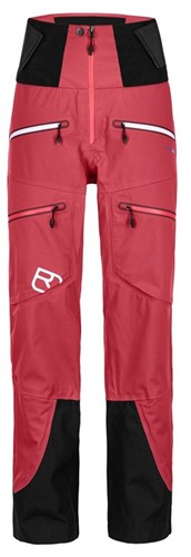 Ortovox 3L Guardian Shell Pants W hot-coral S
