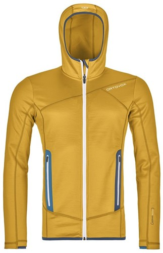 Ortovox Fleece Hoody M yellowstone L