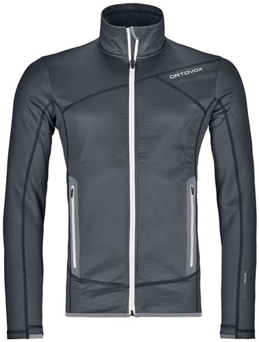 Ortovox Fleece Jacket M black-steel XL