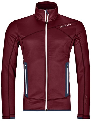 Ortovox Fleece Jacket M dark-blood S