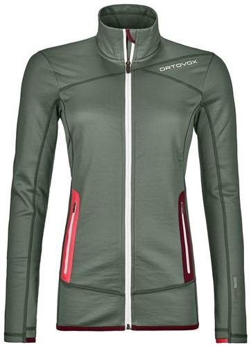 Ortovox Fleece Jacket W green-forest XL
