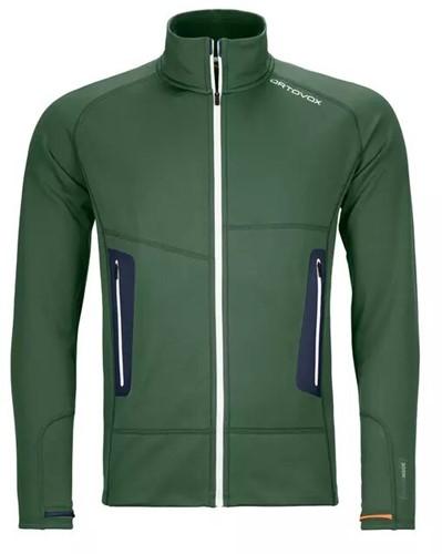 Ortovox Fleece Light Jacke Herren grün S
