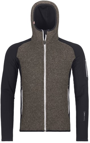 Ortovox Fleece Plus Classic Knit Hoody M black-raven L