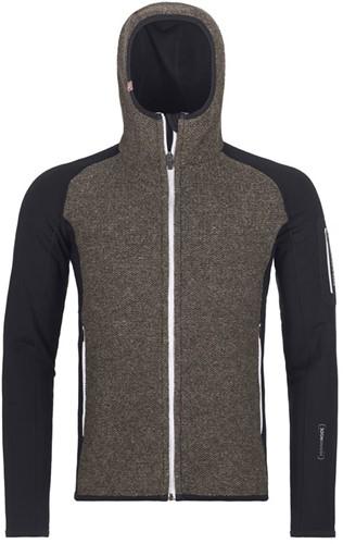 Ortovox Fleece Plus Classic Knit Hoody M black-raven M