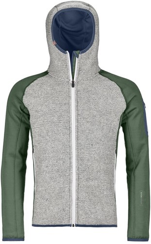 Ortovox Fleece Plus Classic Knit Hoody M green-forest S