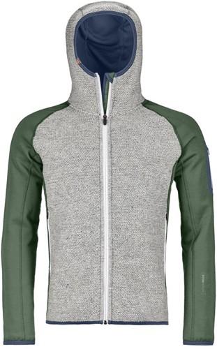 Ortovox Fleece Plus Classic Knit Hoody M green-forest XL