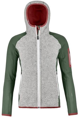 Ortovox Fleece Plus Classic Knit Hoody W green-forest M