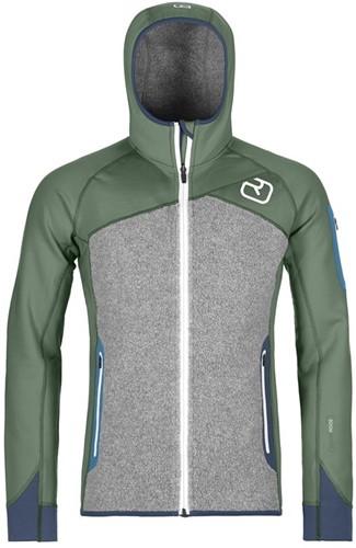 Ortovox Fleece Plus Hoody M green-forest XL