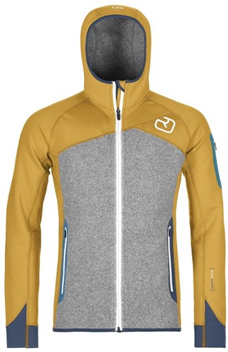 Ortovox Fleece Plus Hoody M yellowstone M