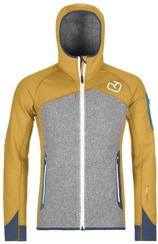 Ortovox Fleece Plus Hoody M yellowstone S