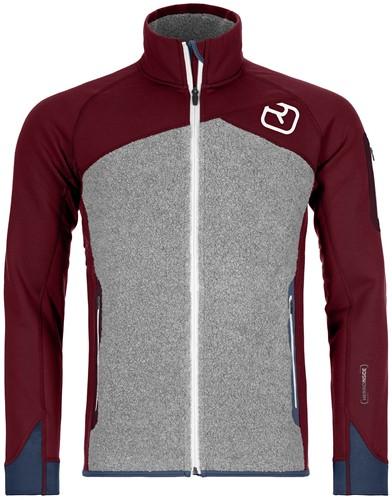 Ortovox Fleece Plus Jacket M dark-blood L