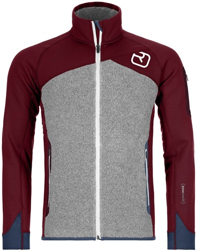Ortovox Fleece Plus Jacket M dark-blood M