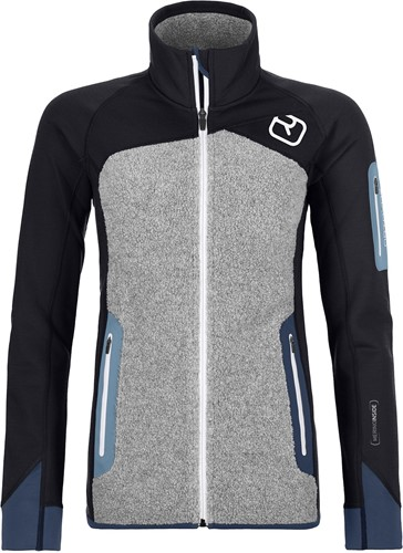 Ortovox Fleece Plus Jacket W black-raven XS