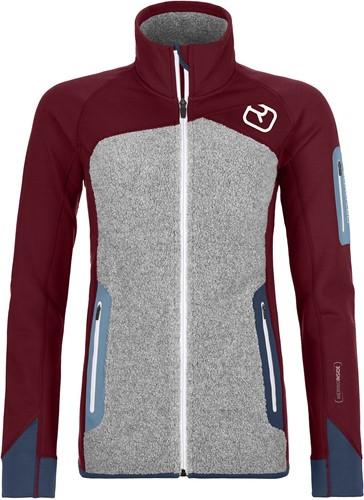 Ortovox Fleece Plus Jacket W dark-blood M