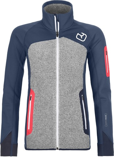 Ortovox Fleece Plus Jacket W night-blue L