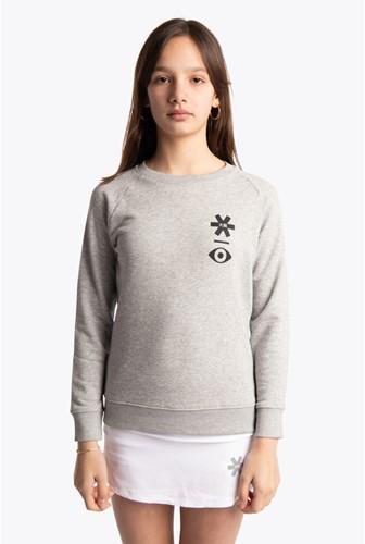 Osaka Deshi Sweater Warpy heather grey 12/14 (20/21)