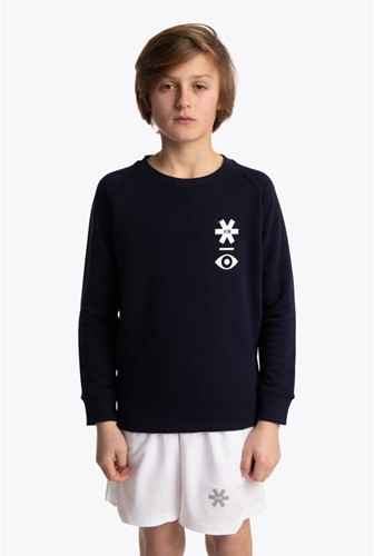 Osaka Deshi Sweater Warpy navy melange 7/8 (20/21)