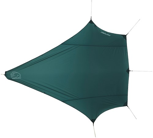 Nordisk Voss Diamond SI Tarp Green Forest Green SI - Incl. Guy Ropes